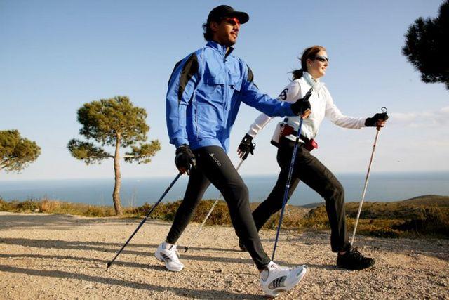 Скандинавська ходьба: правила. Техніка скандинавської ходьби