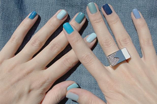 Поєднання кольорів на нігтях