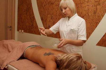 СПА процедури по догляду за тілом в салоні