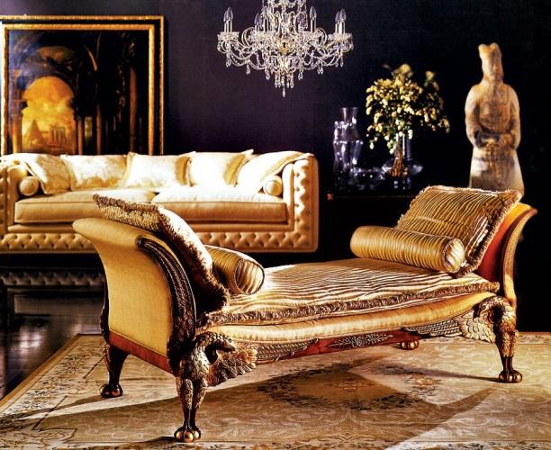 Стиль ампір в інтер'єрі. Характерні риси, особливості меблів і декору