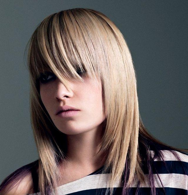Стрижка каскад на середні волосся. Техніка виконання та укладання