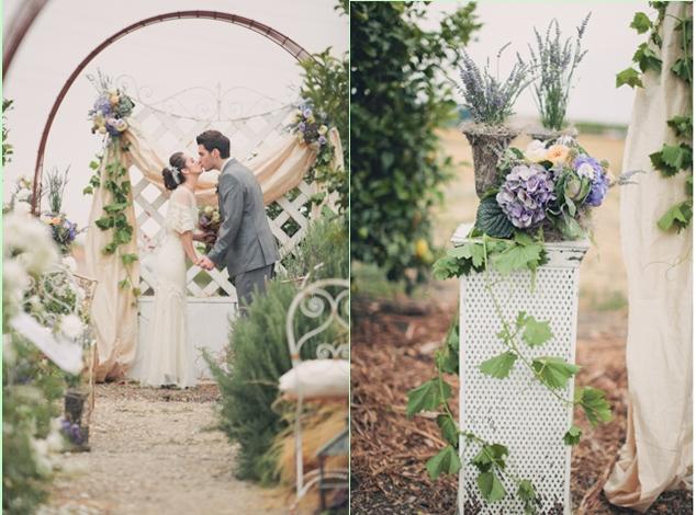 Весілля в стилі прованс