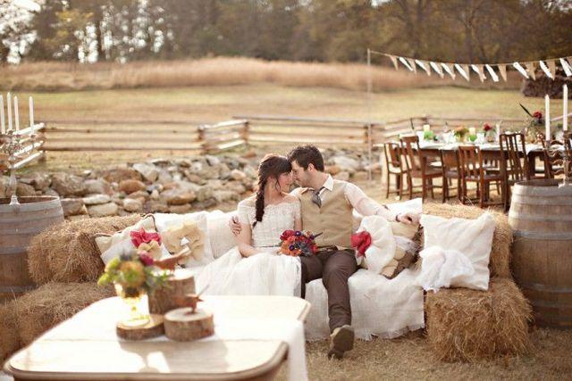 Весілля в стилі рустик. Основні моменти, особливості оформлення і вибору нарядів