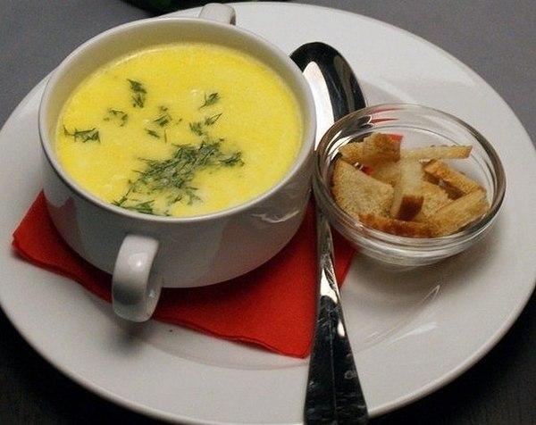 Сирний суп-пюре в мультиварці: приготування