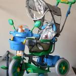 Особливості дитячих велосипедів для дітей від 1 до 2 років