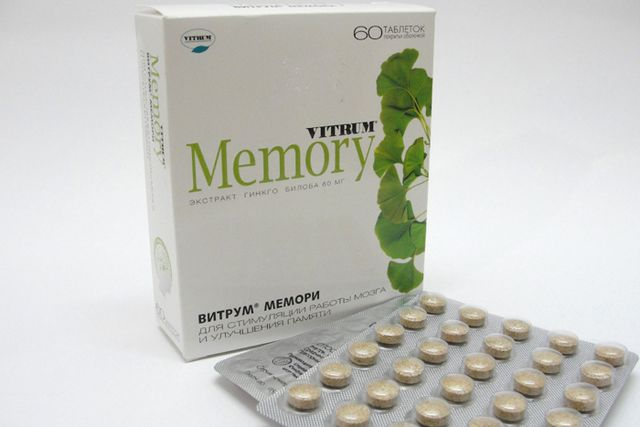 Вітрум Меморі: відгуки про препарат. Вітрум Меморі: інструкція із застосування