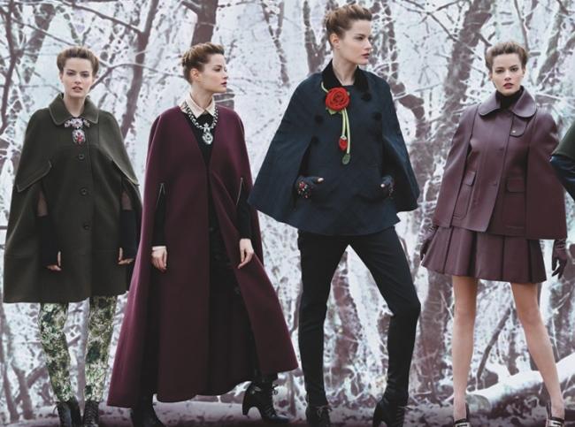 Зустрічайте - модний кейп 2013, пальто і накидка в одному флаконі