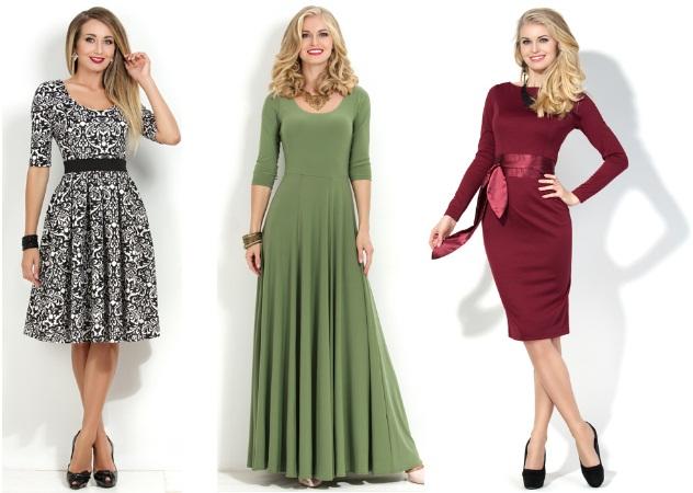 Трикотажні сукні для нового року