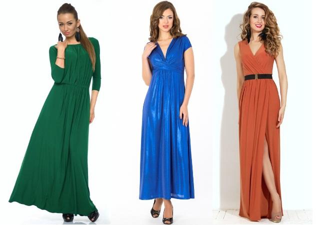 Довгі сукні для нового року 2015