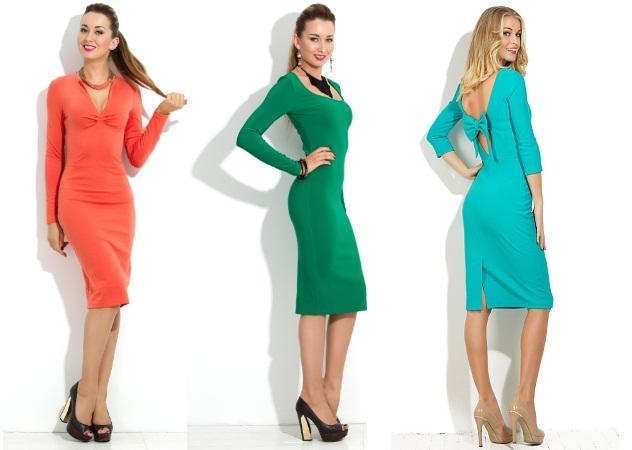 Сукні-футляри для зустрічі нового року