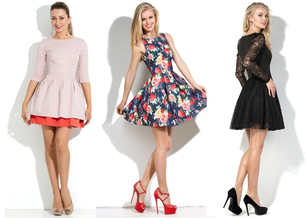 Короткі сукні на новий рік