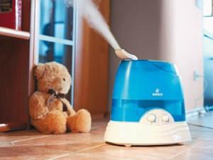 Вибираємо зволожувач повітря для дитячої