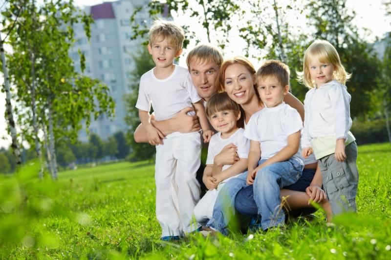 Виплати та допомоги багатодітним сім'ям 2013 - які виплати покладені багатодітним сім'ям у Росії?