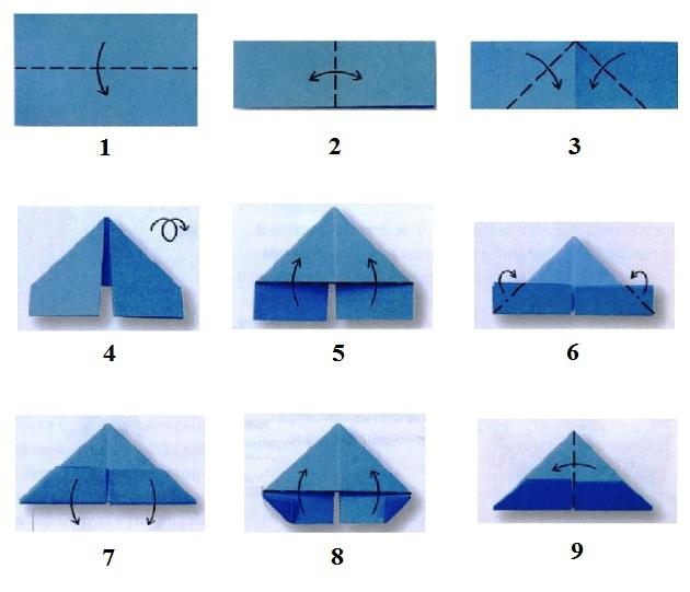 Заєць орігамі: спосіб виготовлення. Схема для модульного орігамі заєць