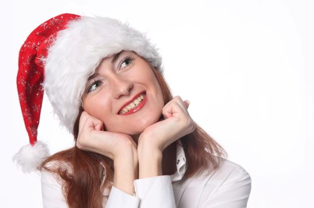Жінка думає, що замовити на новий рік