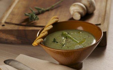 Жиросжигающий суп зі шпинату