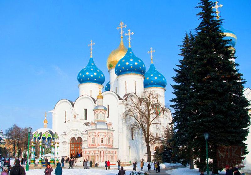 Зимові канікули 2014 з дітьми по Золотому кільцю Росії