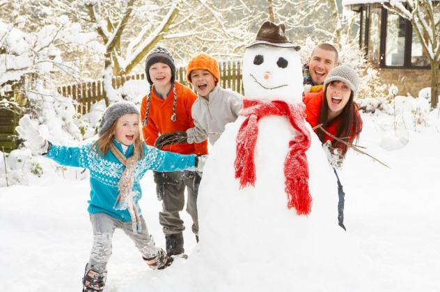Зимові канікули у сімейному колі - цікавіше НЕ буває!