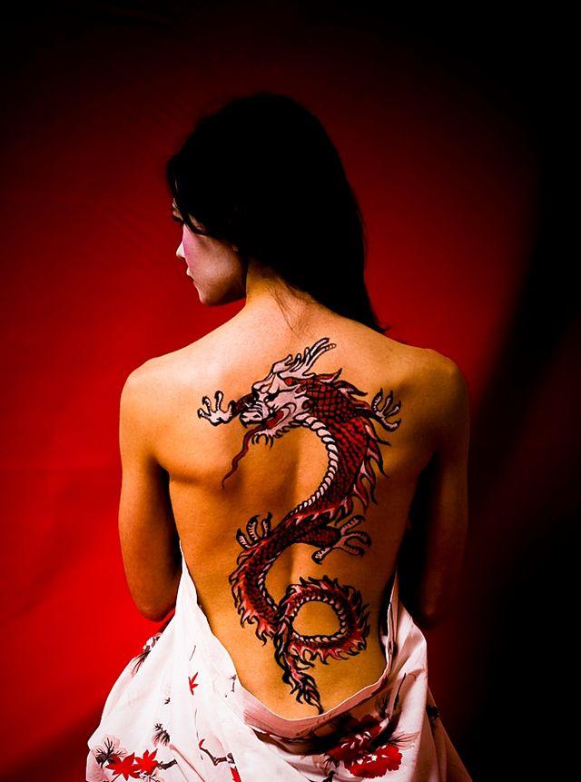 Значення татуювань для дівчат. Як вибрати місце для татуювань?